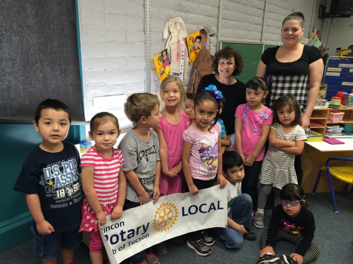 Rincon Rotary lights up learning for a local preschool