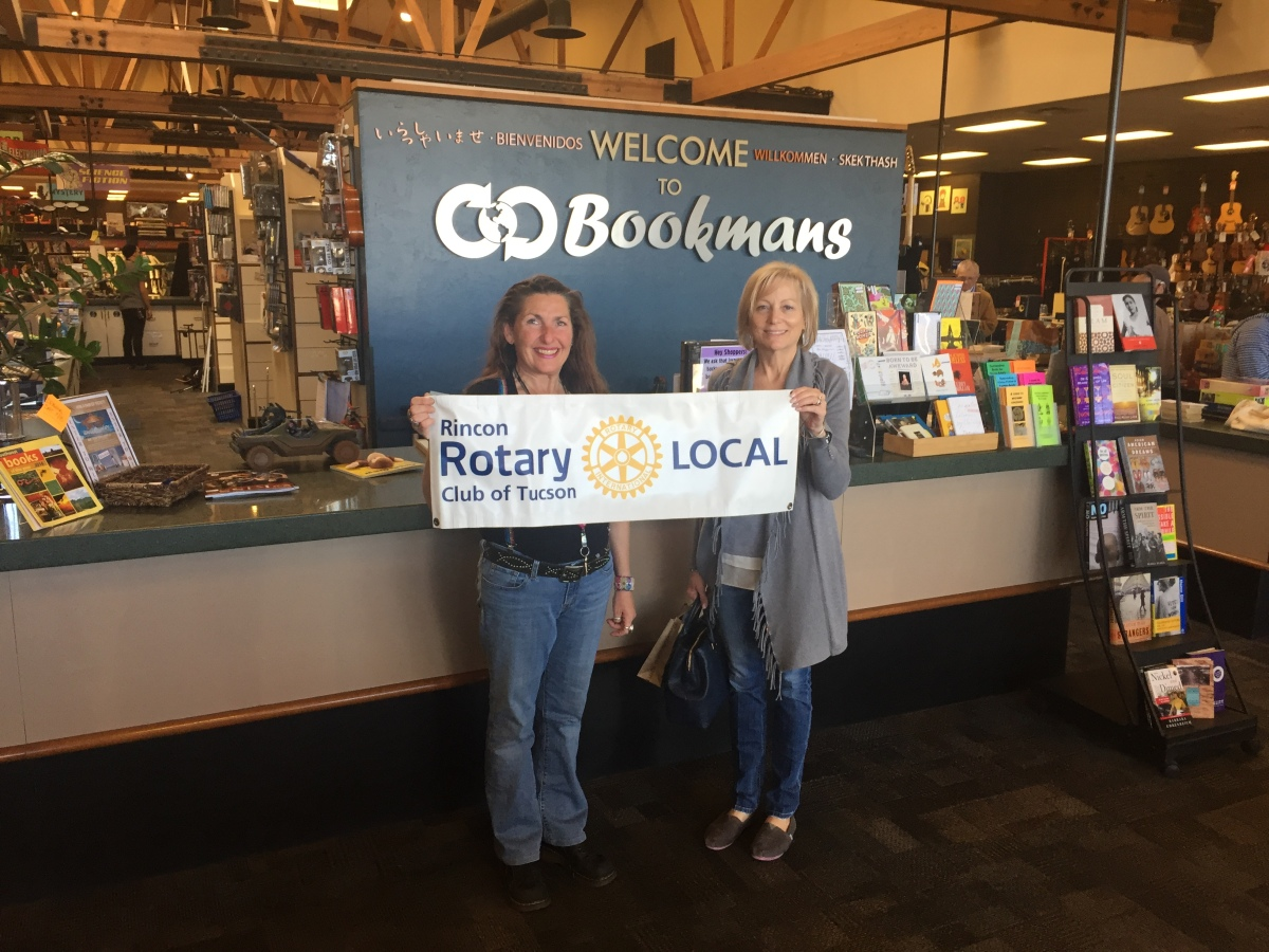Rincon Rotary empowers Cienega teacher in her quest to build a love of reading.