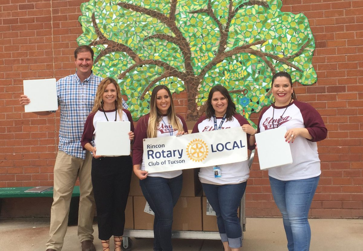 Rincon Rotary binds the local business community to local students at Elvira Elementary.