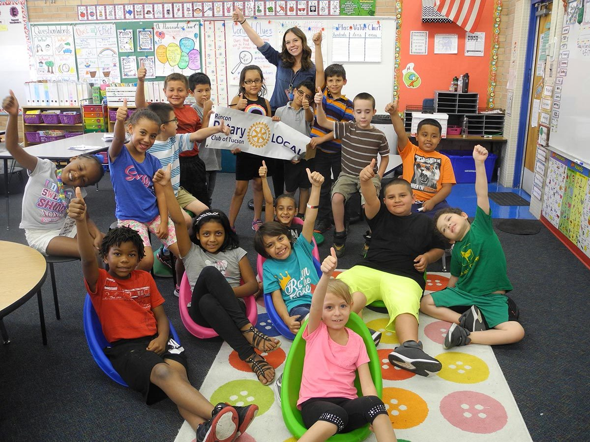 Bloom Elementary is down in the easy chair thanks to the Rincon Rotary.