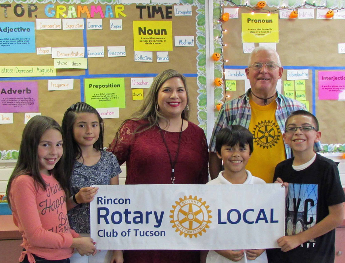 Have you seen Junior's Grades? They're a whole lot better thanks to the Rincon Rotary.