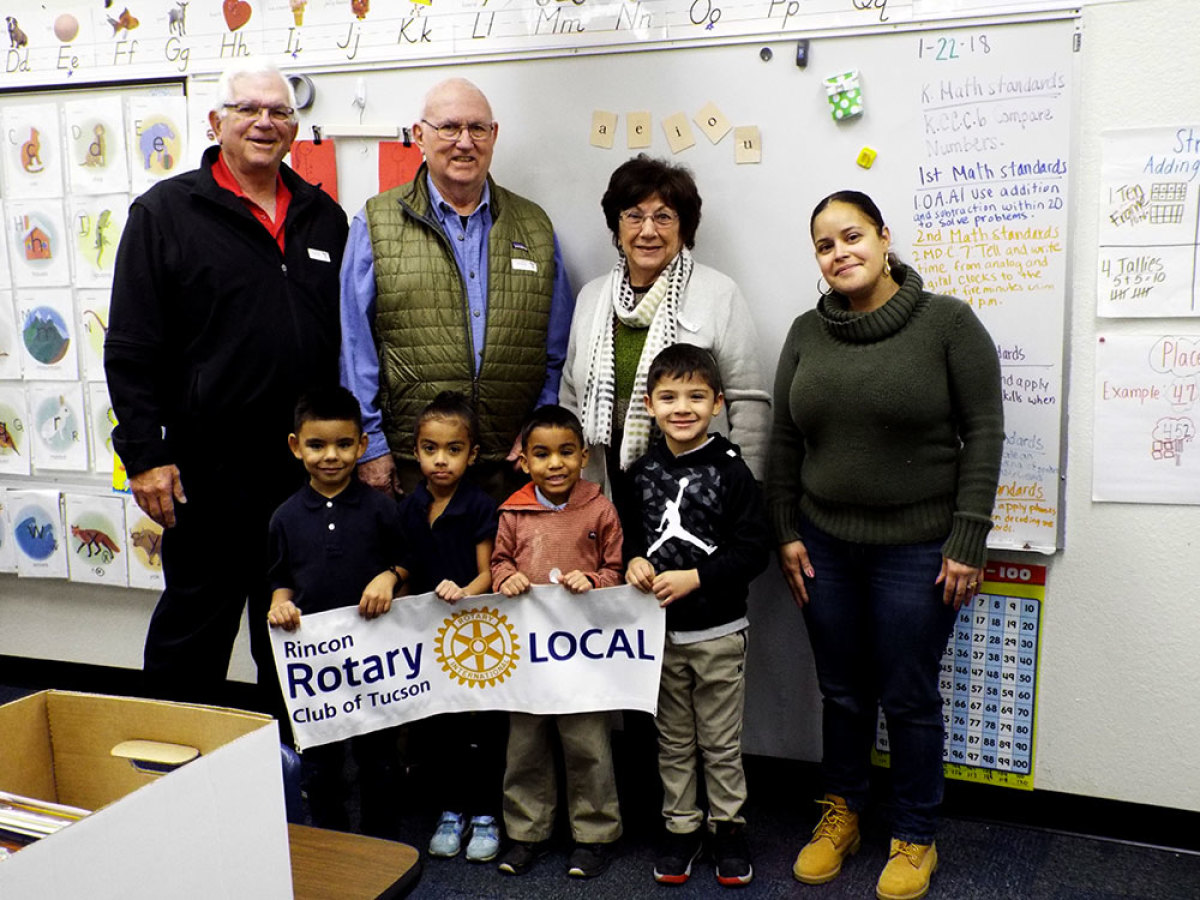 Rincon Rotary keeps Craycroft Elementary counting in the free world.