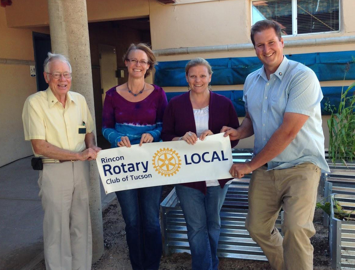 Rincon Rotary helps plant the seeds of success Agua Caliente Elementary School.